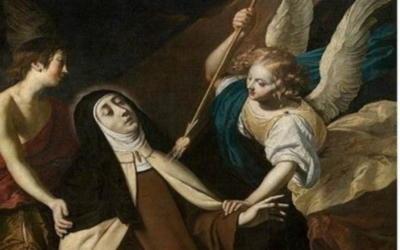 26 août: Transverbération du coeur de Ste Thérèse de Jésus