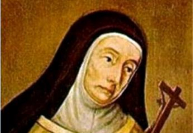 12 septembre: Bienheureuse Marie de Jésus